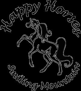 Logo poneys blanc
