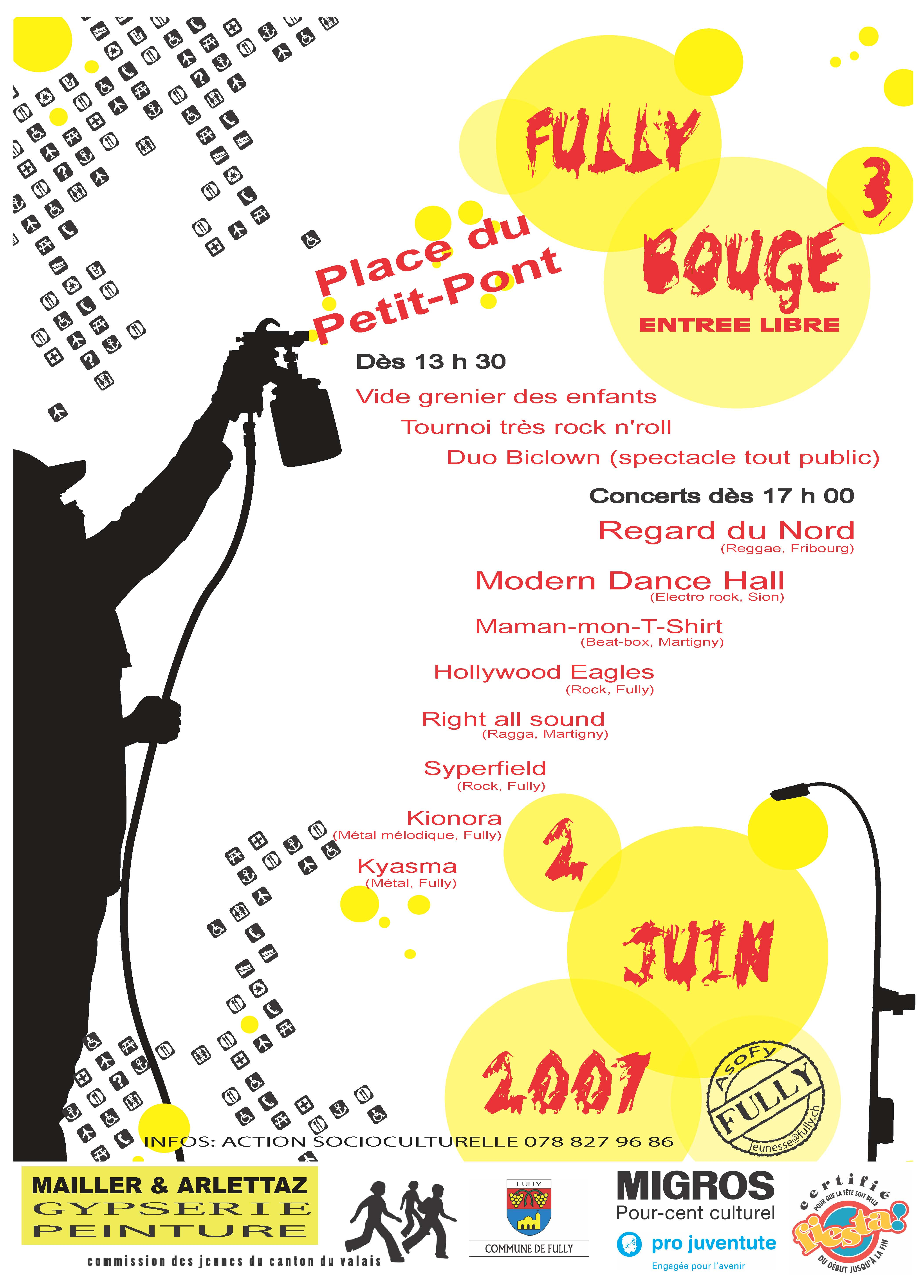 Affiche Fully bouge_2007